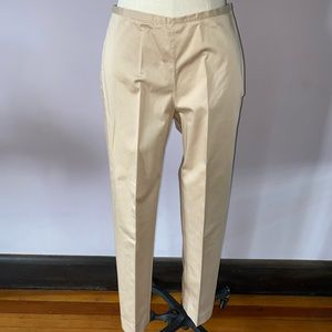 J. McLaughlin cotton spandex side zip pants